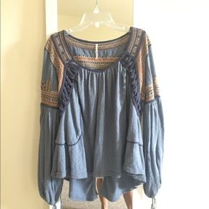 FP embroidered top